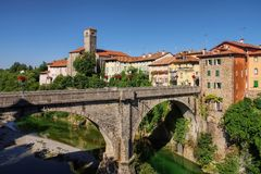 Cividale del Friuli. In Italy Stock Photography