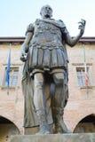 Cividale del Friuli, soldier statue Royalty Free Stock Photos