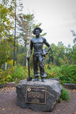 Civiian Conservation Corp Statue in Minnesota Royalty Free Stock Photo