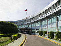 Civil Aeronautics Administration in Taipei Songshan Airport,MOTC. Taipei, Taiwan - JUNE 27, 2015: Civil Aeronautics Administration in Taipei Songshan Airport Royalty Free Stock Images