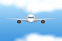 Civil Aircraft airplane Stock Image