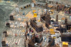 Civil construction site Royalty Free Stock Photography
