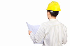 Civil engineer body part Stock Photos