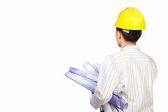 Civil engineer body part Royalty Free Stock Images
