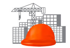 Civil engineering concept Royalty Free Stock Image