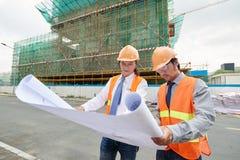 Civil engineers Royalty Free Stock Image