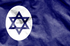 Civil Ensign of Israel. Royalty Free Stock Photography