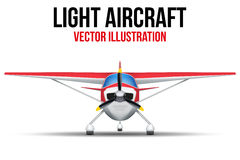 Civil Light Aircraft Stock Photography