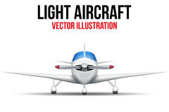Civil Light Aircraft Royalty Free Stock Image