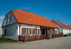Civil Registry house in Tykocin, Poland Royalty Free Stock Images