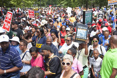 Civil Rights marchers Royalty Free Stock Photos