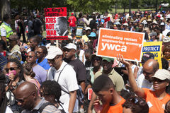 Civil Rights marchers Stock Image