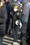 Civil society activist Anastasia Rybachenko Royalty Free Stock Image