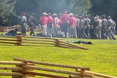 Civil war Stock Image