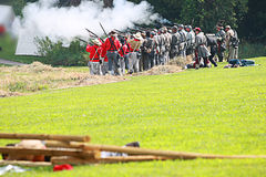 Civil war Stock Photography