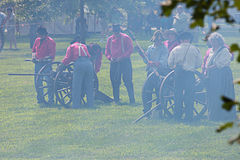 Civil war Royalty Free Stock Photo