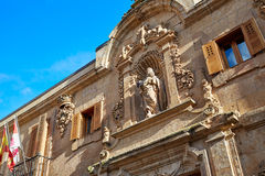 Civil war archive in Salamanca facade Spain Royalty Free Stock Photos