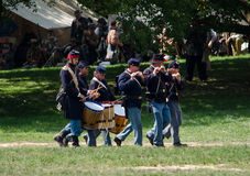 Civil war band Stock Photo