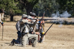 Civil War Battle Royalty Free Stock Photography