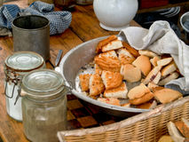 Civil War Breakfast Royalty Free Stock Photos