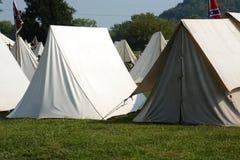 Civil war camp Royalty Free Stock Image