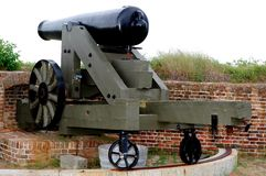 Civil War Cannon 2 Royalty Free Stock Photo
