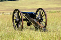 Civil War Cannon Stock Photo