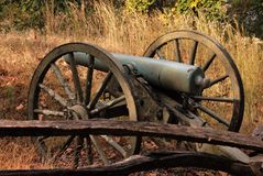 Civil war cannon Royalty Free Stock Photos