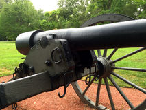 Civil War Cannon front view close up 2 Stock Photography