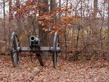 A Civil War Cannon from Gettysburg, Pennsylvania Stock Photos