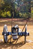 Civil War Cannon Stock Image