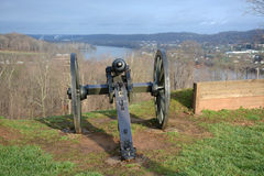 Civil War Cannon Stock Image