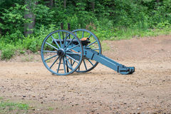 Civil war cannon. An civil war cannon at a reenactment Stock Images