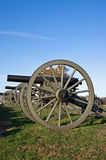Civil War Cannons Stock Photography