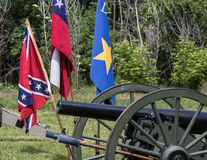 Civil War Cannons Royalty Free Stock Photography