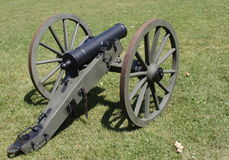 Civil War Canon Stock Photography