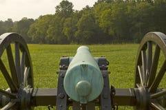 Civil War Canon. A Civil War Cannon at Chickamauga Battlefield Stock Images