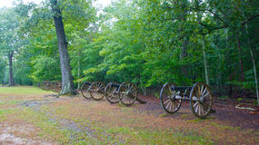 Civil War Canon at Shiloh Royalty Free Stock Photos