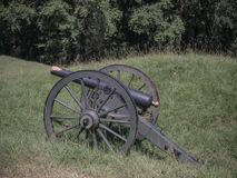 Civil War Canon Vicksburg Mississippi Tribute stock photos
