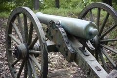Civil war canons Stock Photos
