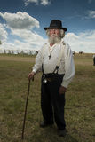 Civil War Chaplain Royalty Free Stock Photography