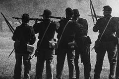 Civil War Combat Stock Photos