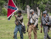 Civil War  Confederates Royalty Free Stock Photography