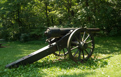 Civil War Era Cannon - Appomattox County, Virginia, USA Stock Photos