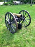 Civil War era cannon Stock Photo