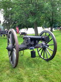 Civil War era cannon Royalty Free Stock Photos