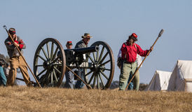 Civil War Era Cannon Royalty Free Stock Image