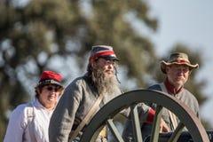 Civil War Era Cannon Stock Photography