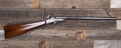 Civil War Era Rifle. Stock Photo