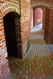 Civil War Fort Brick Architecture Royalty Free Stock Photo